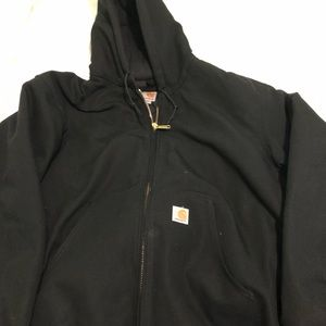 Black Carhartt Heavy Winter Coat